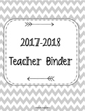 HUGE SALE!! 2017-2018 Teacher Binder. Teacher Planner. Les