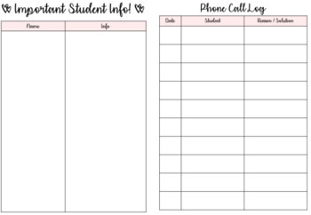 2017-2018 Teacher Lesson Planner!