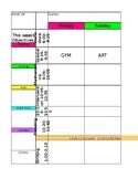2017-2018 Teacher Plan Book