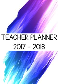2017 - 2018 Teacher Planner