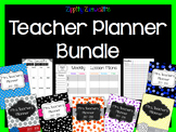 Teacher Planner - Editable for All Years