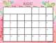 2018-2019 Tropical Calendar