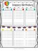 2017-2018 Weekly Preschool Planner