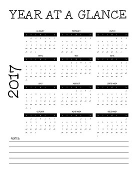 2017-2018 Year at a Glance
