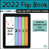 New Year's Digital Interactive Flip Book