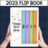 New Year's Digital Interactive Flip Book