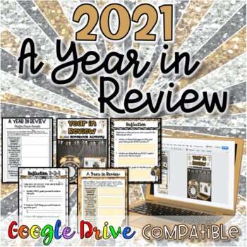 2017:  A Year in Review-New Years Activity {Digital AND Paper}