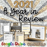 2018:  A Year in Review-New Years Activity {Digital AND Paper}