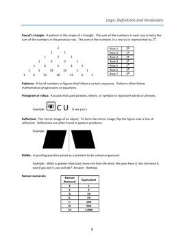 2017 AJHD Logic Study Guide
