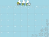 2017 Academic Calendar  {FREE PRINT}