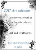 2017 Art Keepsake Calendar