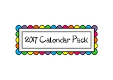 2017 Calendar Pack