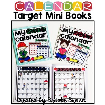 2017 Calendar Target Mini Books