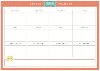 2017 Calendar and Daily Planner/Schedule Bundle