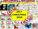 2017 - Christmas Quiz (Fiction, Literacy) - 7 rounds & 40+