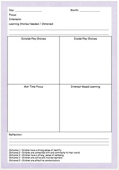 2017 Early Education Teacher Planner