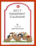 2017 Handprint Calendar