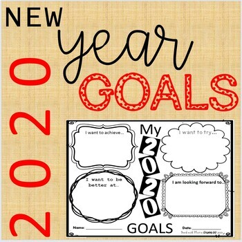FREE! My 2020 NEW YEAR GOALS!