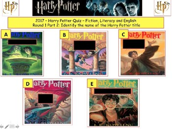 2017 - Harry Potter introduction Quiz (Fiction) -7rounds and 40Qs'