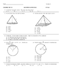 2017 Honors Geometry Final Exam