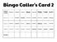 Inauguration Bingo