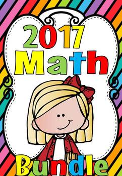2017 KINDERGARTEN AND GRADE 1 MATHS BUNDLE