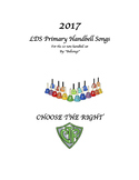 2017 LDS Primary Songs for the 20 note handbell set