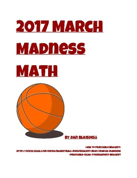 2017 March Madness Math