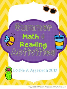 2017 Math & Reading Activities