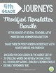 2017 Modified Editable Fourth Grade, Weekly Newsletters BUNDLE
