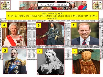 2017: UK Monarchy Royal Family Quiz - 7 Rounds and over 40 Questions. Civics