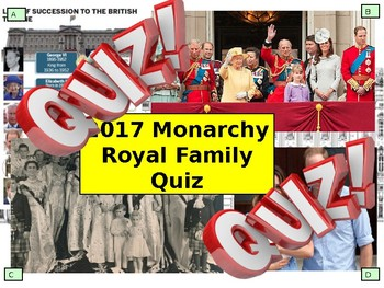 2017: UK Monarchy Royal Family Quiz - 7 Rounds and over 40 Questions  Civics