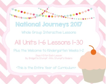 2017 National Journeys ALL Units (1-6)  All Lessons 1-30 WTK 1 and 2 Smartboard