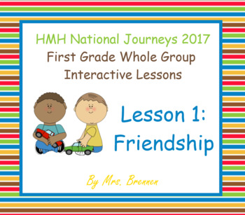 2017 National Journeys First Grade - SMART Board Lesson 1