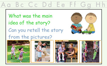 2017 National Journeys First Grade - SMART Board Lesson 1, Day 1 FREEBIE!