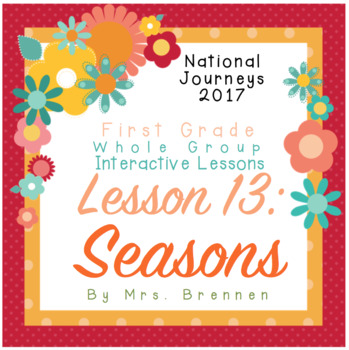 2017 National Journeys First Grade - SMART Board Lesson 13
