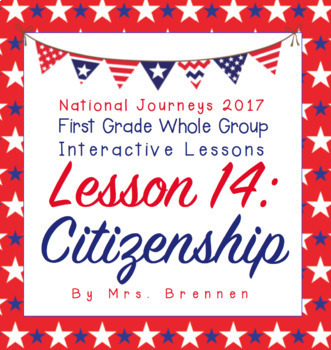 2017 National Journeys First Grade - SMART Board Lesson 14