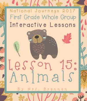 2017 National Journeys First Grade - SMART Board Lesson 15