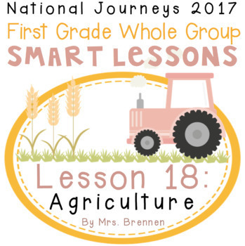 2017 National Journeys First Grade - SMART Board Lesson 18