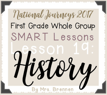 2017 National Journeys First Grade - SMART Board Lesson 19