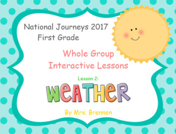 2017 National Journeys First Grade - SMART Board Lesson 2