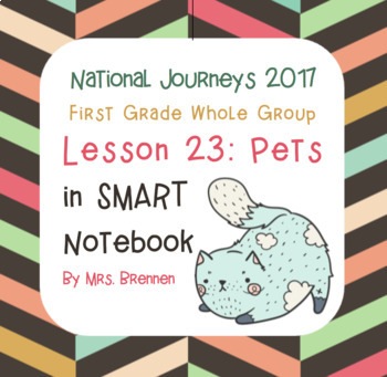 2017 National Journeys First Grade - SMART Board Lesson 23