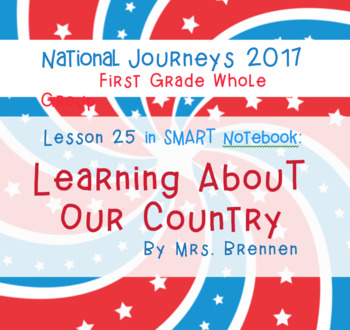2017 National Journeys First Grade - SMART Board Lesson 25