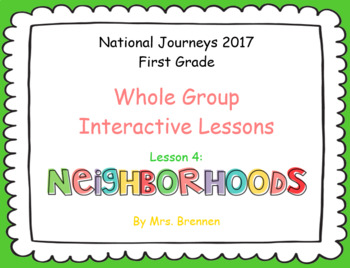 2017 National Journeys First Grade - SMART Board Lesson 4