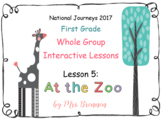 2017 National Journeys First Grade - SMART Board Lesson 5