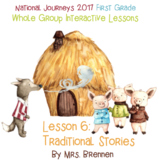 2017 National Journeys First Grade - SMART Board Lesson 6