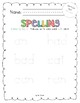 2017 National Journeys First Grade Spelling Practice Sheets/Centers, Unit 2