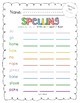 2017 National Journeys First Grade Spelling Practice Sheets/Centers, Unit 4