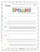 2017 National Journeys First Grade Spelling Practice Sheets/Centers, Unit 5