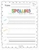 2017 National Journeys First Grade Spelling Practice Sheets/Centers, Unit 6